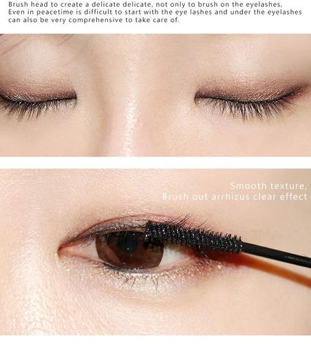 1 rimel preto pincel ultra fino definição alongamento beleza