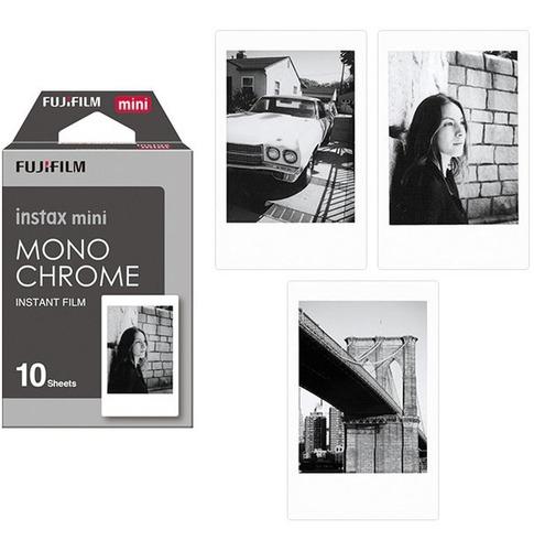 1 rollo = 10 fotos fujifilm instax mini monochrome