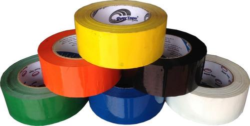 1 rollo cinta para empaque de 48x150 en diversos colores