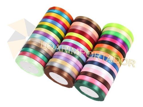1 rollo cinta raso número 2 ancho 1 cm x10 metros