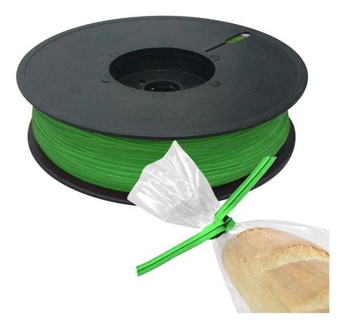 1 rollo de alambre forrado de plastico, plastinudo o twister