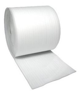 1 rollo polietileno espumado polipac empaque 1/4 de 1x55 mts