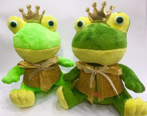 1 sapo príncipe pelúcia buquê casamento noiva  princesa