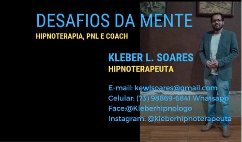 1 sessão de hipnoterapia(hipnose clínica)