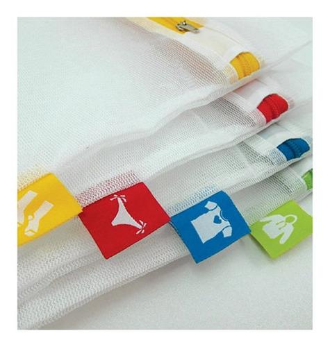 1 set de 4 bolsas para lavar ropa miden 33x26 cm lea medidas