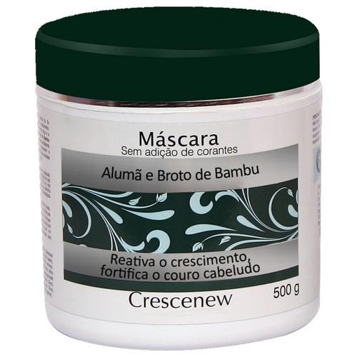 1 shampoo 1 máscara hidratação cabelo alumã e broto de bambu