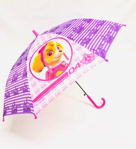 1 sombrilla paraguas paw patrol patrulla canina mayoreo bolo