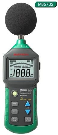 1 sonometro digital tipo ii mastech 6701