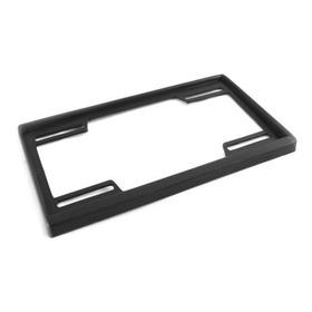 1 Soporte Portaplaca Carro Plastico Negro Nuevo Universal