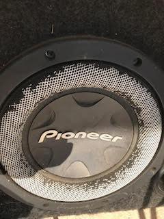 1 subwoofer pionner 1000 rms + 1modulo coastar mono 3000what