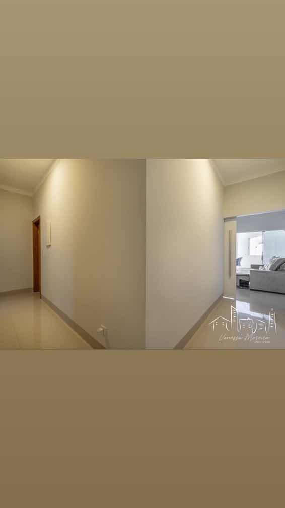 1 suíte; 2 quartos integrado banheiro; casa toda planejada