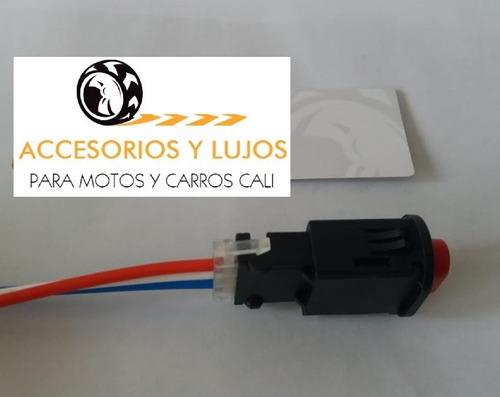 1 switch/suichet interruptor estacionarias/parqueo carr/moto