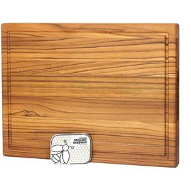 1 Tabla Premium De Madera Teca Para Picar Y Cocinar Profesio