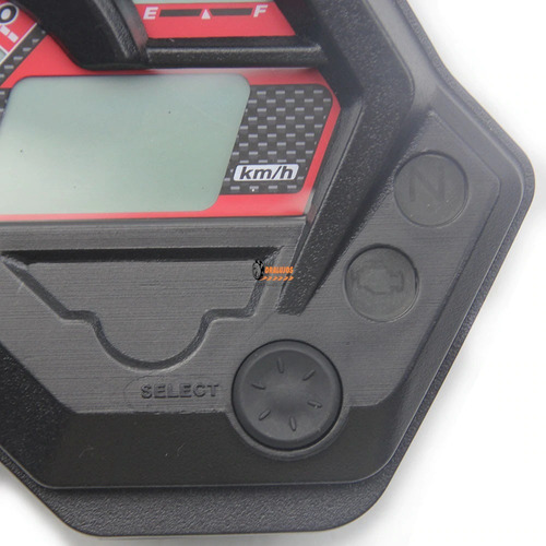 1 tacometro led digital para yamaha fz16 moto nuevo