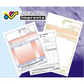 1 Talonario De Facturas A, B, C, R, Presup., Recibo, Etc.