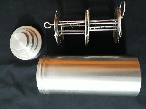 1 tanque de revelado negativos de 6x6 doble en acero inoxida