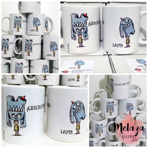 1 taza personalizada full color mín cant 10 iguales