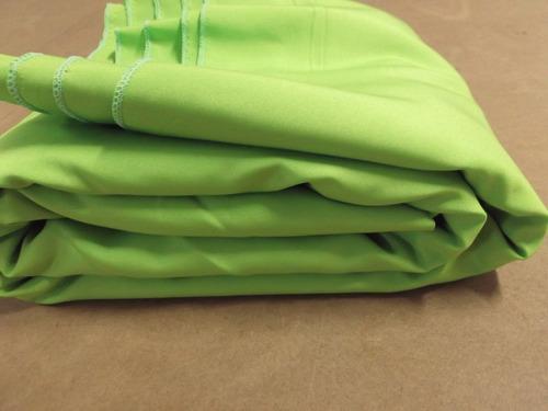 1 tecido 3x6 verde estudio foto fundo infinito chroma key