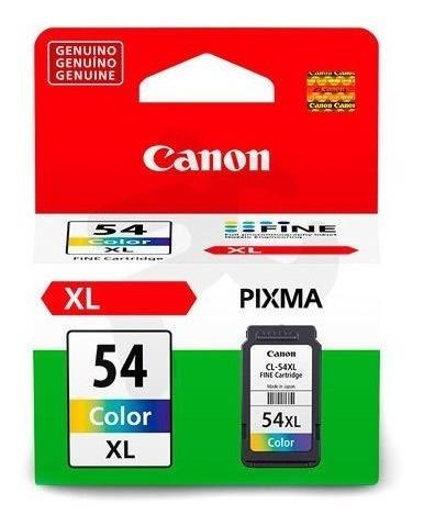 1 tinta canon cl-54xl genuina e401/e402/e461/e471/481 c/iva