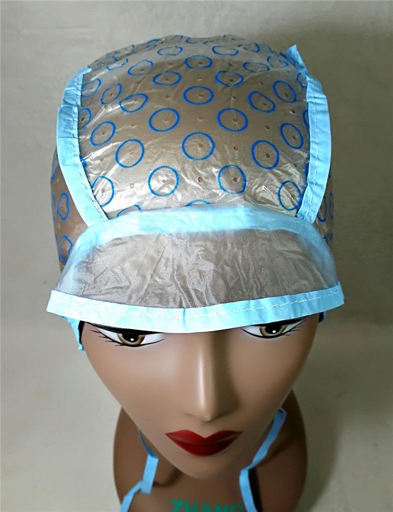 1 Touca Plástica Para Confecção De Perucas -varias Cores - R  9 8e9e8008c42