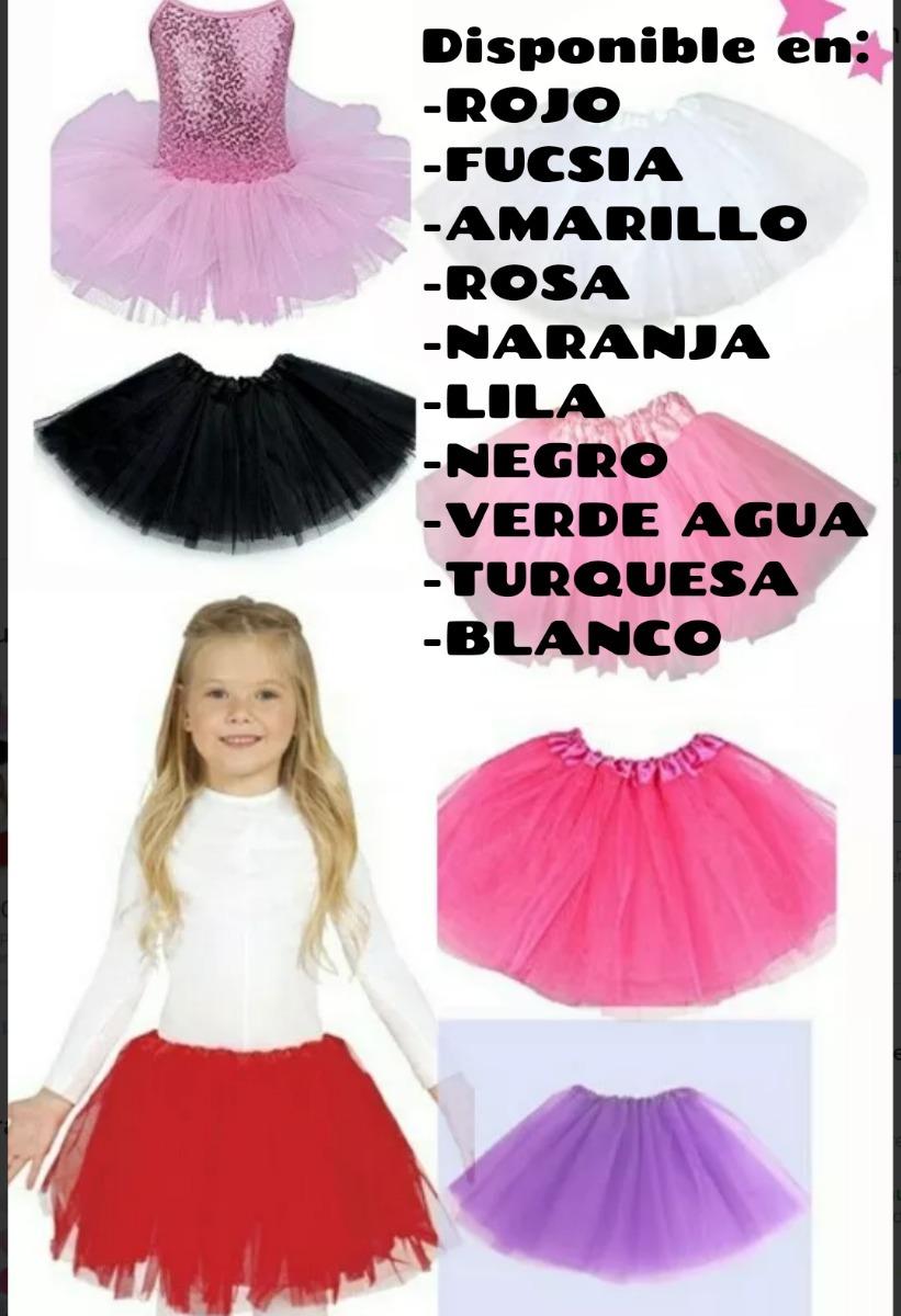 1028678c5 1 Tutu Pollerita Nena Tul Cotillon Danza Disfraz Fiesta