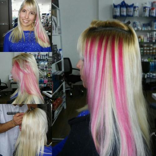 1 unid algaline joy rosa - tonalizante e intensificador pink