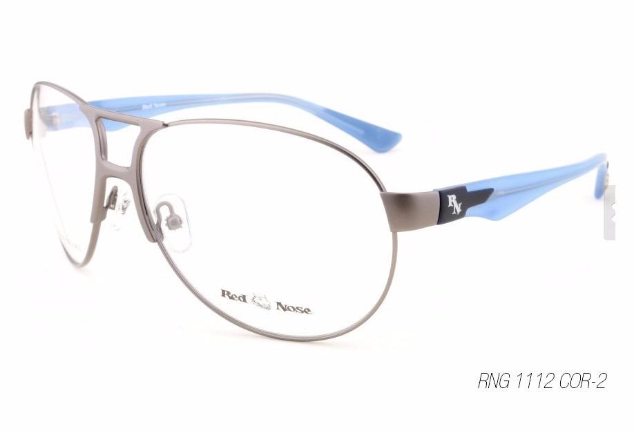 1 Unidade -armação Para Óculos De Grau Red Nose Rng 1112 2 - R  70 ... 61ff635485