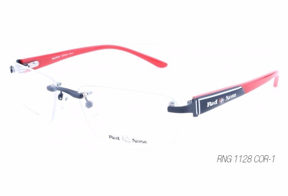e60ef2b10 1 unidade -armação para óculos de grau red nose rng 1128/1. Carregando zoom.