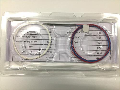 1 unidade splitter óptico desbalanceado 1x2 sem conector c/ tres ondas nf@