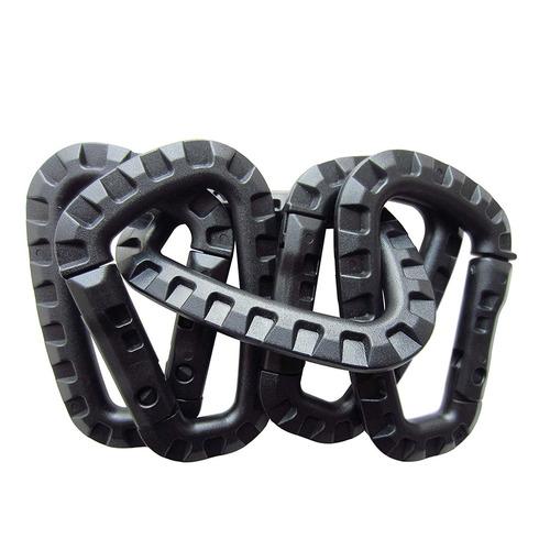 1 unids tactic mosquetones clip mochila colgando d forma