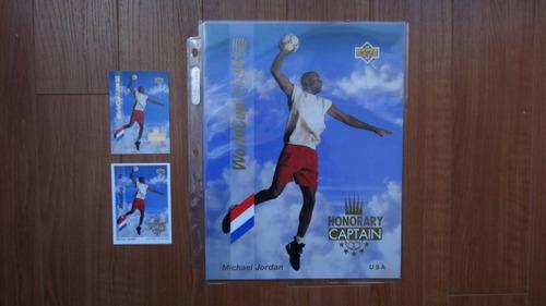1 upper deck world cup michael jordan solo la 8.5  x 11