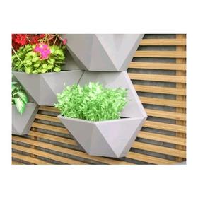 1 Vaso De Parede Polietileno Decoração Casa Jardim Vertical