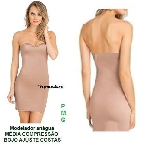 69c6c70ff 1 Vestido Bojo Anágua Cinta Tomara Body Combinação Modelador - R  89 ...