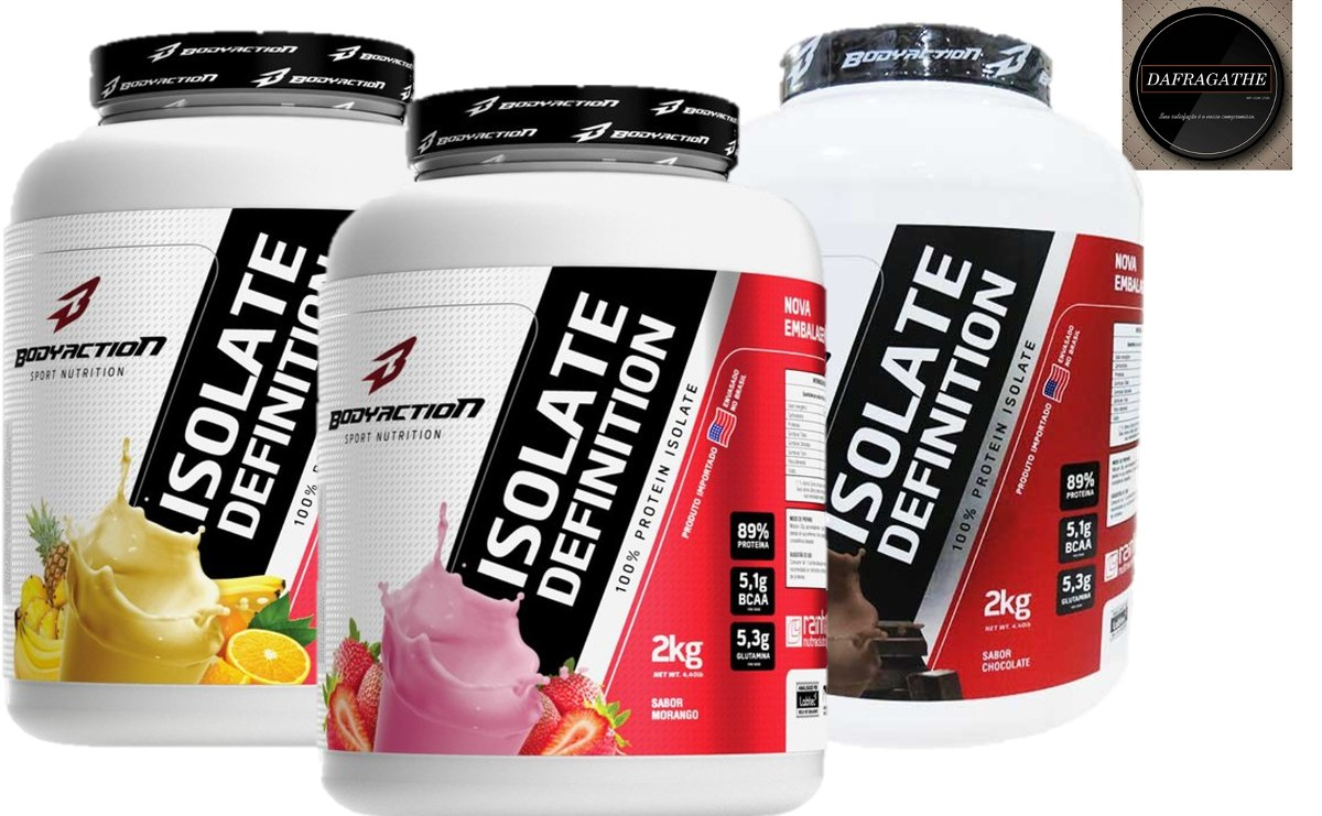 1 whey isolate definition 2 kg- body action - frutas - r$ 107,00 em