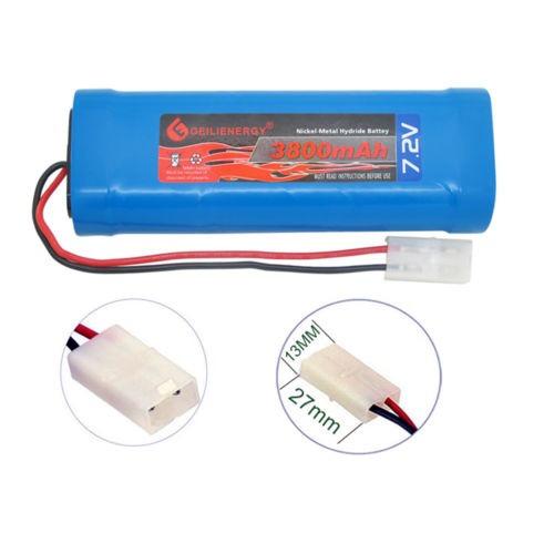 1 x 7.2v 3800mah ni-mh recargable batería de coche rc tamiya