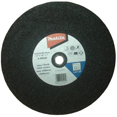 1 x disco corte 14x1/8x1 metal grao: 5 makita a-89545