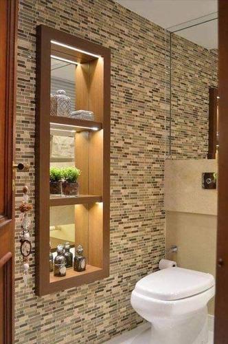 1 x malla mosaico decorativa cenefa vidrio marmol beige lati