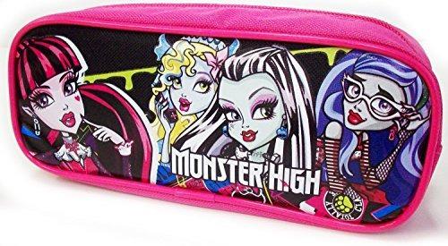 1 x mattel monster high pencil pouch / funda (rosa)