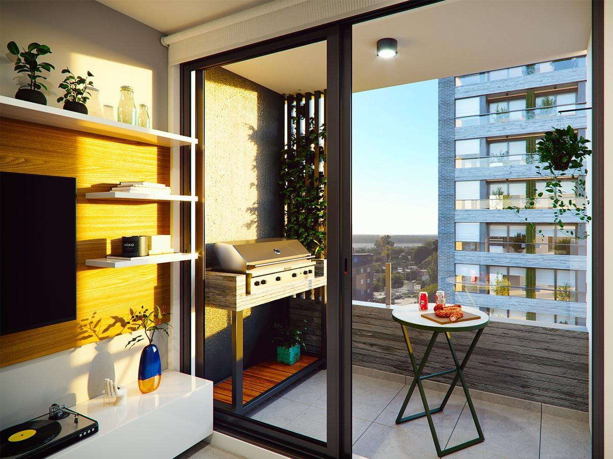 1 y 2 dormitorios con parrillero
