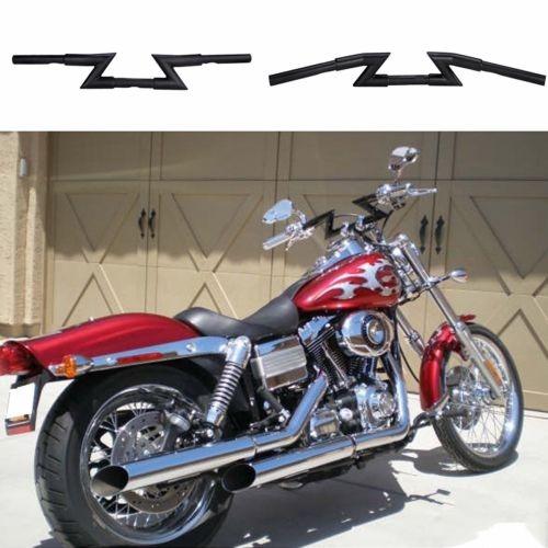 "7//8/"" barras Manillar Moto Z 1/"" Para Harley Chopper Sportster Clubman"