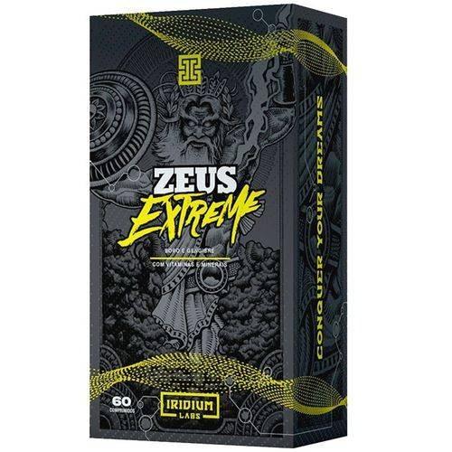 1 zeus extreme 60 caps + 1 glutamina 300g iridium labs