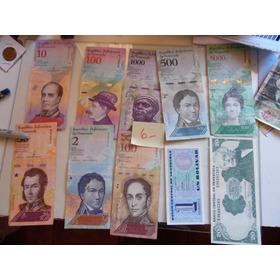 10  Billetes Venezuela