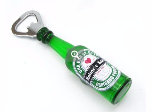 10 abridor de garrafa ima geladeira formato garrafa sortidos