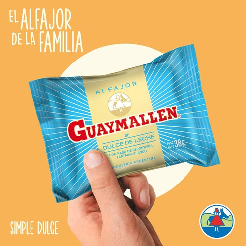 10 alfajores guaymallen simples  fiestissima liniers