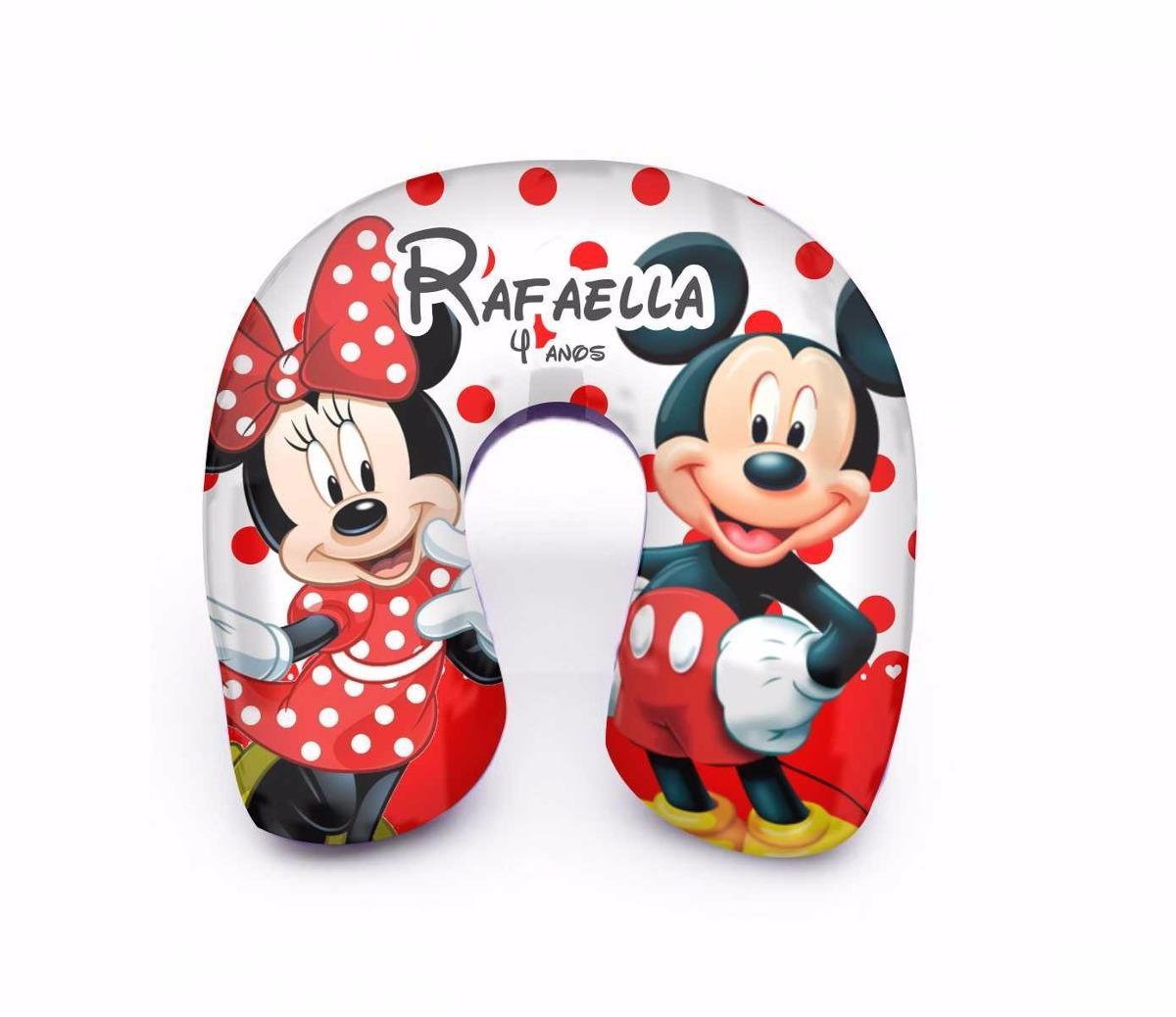 10 Almofada Pesco O Minnie E Mickey Lembrancinha Anivers Rio R  ~ Cozinha Da Minnie De Verdade