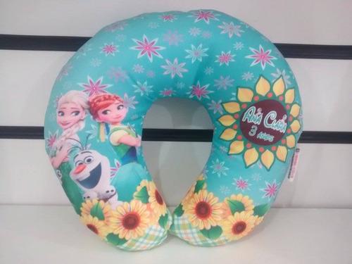 10 almofada pescoço personalizada lembrancinha frozen fever