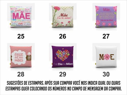10 almofadas lembrancinha 35x35 dia das mães atacado lindas!