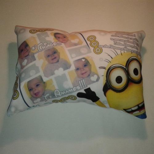 10 almohadones souvenirs personalizados 20 x 30