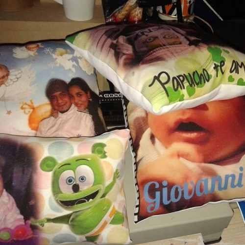 10 almohadones souvenirs personalizados 30x30