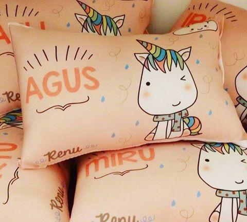 10 almohadones souvenirs personalizados. medida 20x30 cm
